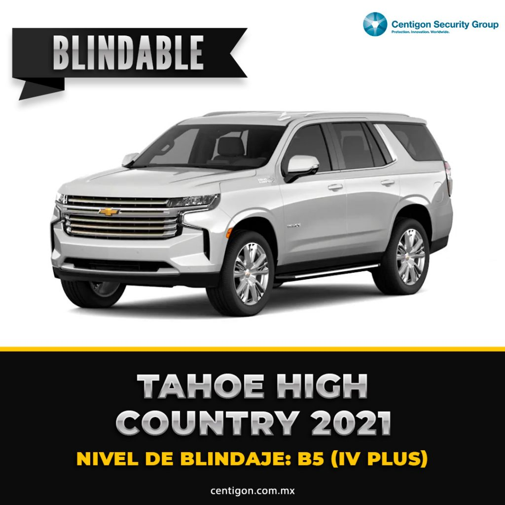 Tahoe 2021 High Country Blindaje B5 (IV PLUS)