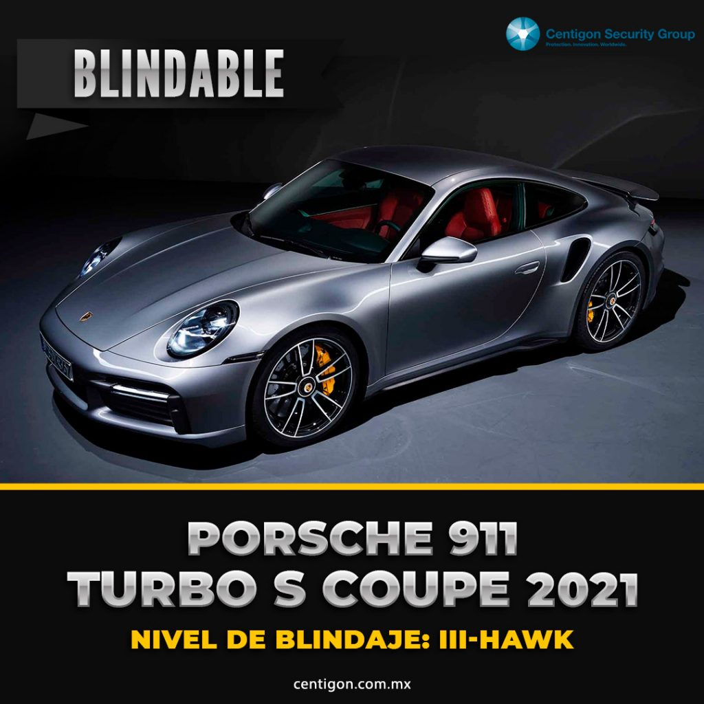 Porsche 911 Turbo S Coupe Blindaje III-HAWK