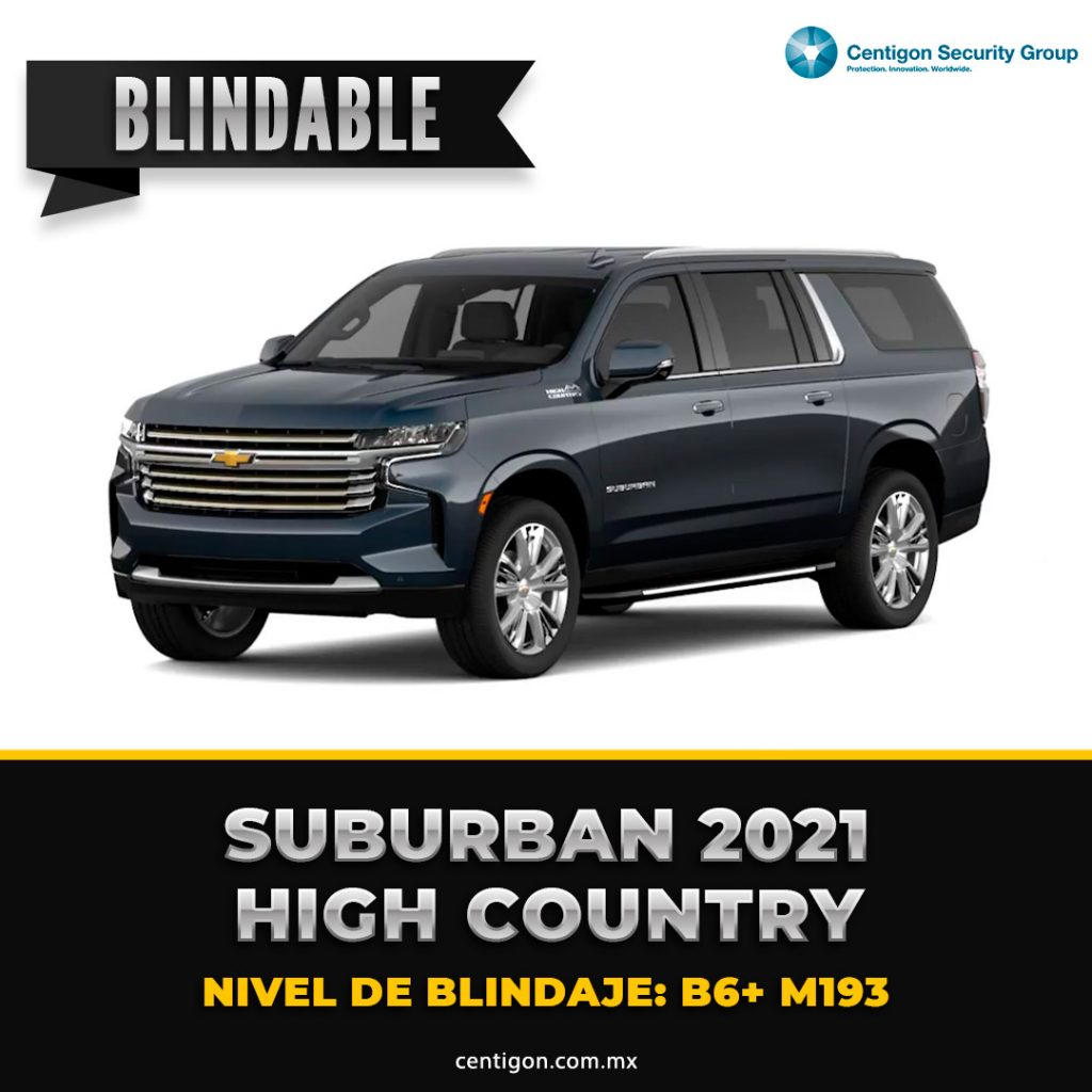 Suburban 2021 High Country Blindaje B6+ M193